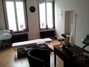 Intérieur du Cabinet d'Ostéopathie de Saint-Omer
